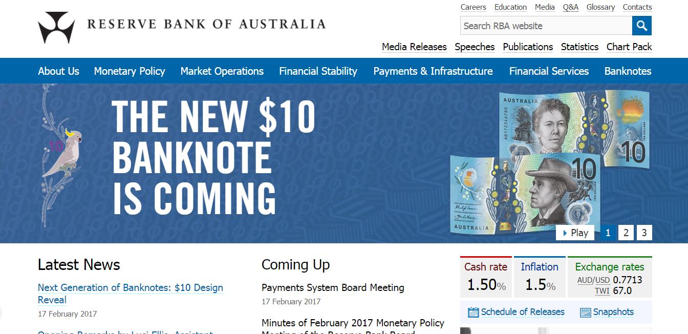 澳联储发布新版10元